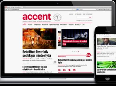 Redesign av Accent