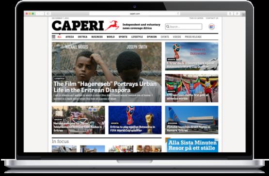 Formgivning och konstruktion av frivillig nyhetswebb