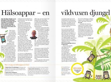 E-hälsa –Illustrationer till tidningsreportage