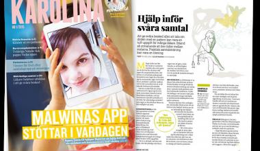 Karolina –KS personaltidning med ny design