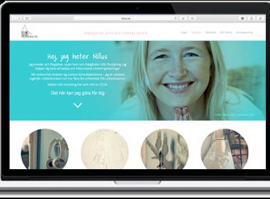 Nillus fick en komplett sajt i WordPress på mindre än en vecka