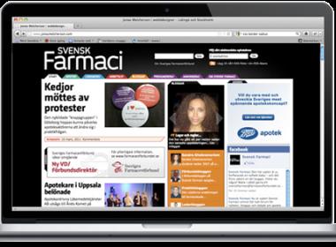 Nyhetswebb för apotekare och andra farmacevter