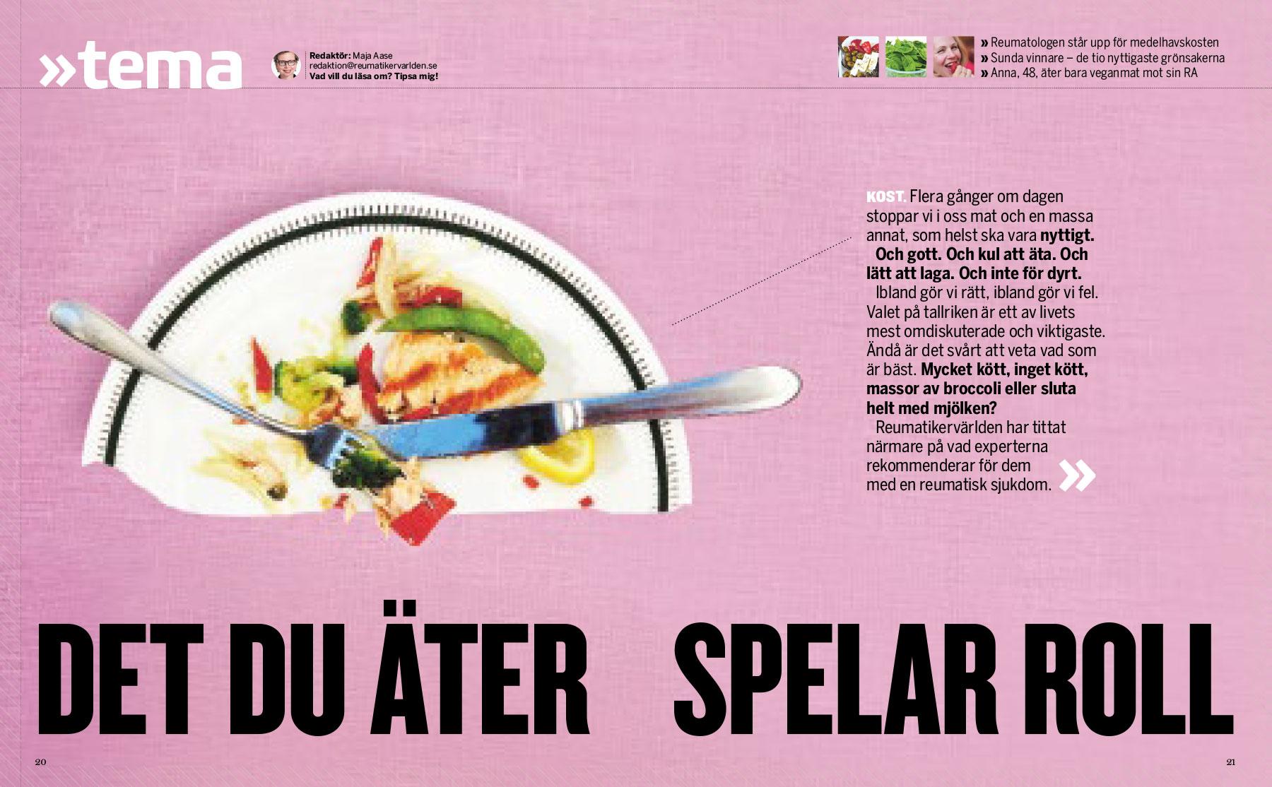 Det du äter spelar roll